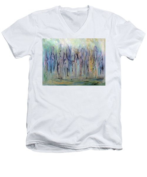 Between Horse And Men Men's V-Neck T-Shirt by Roberta Rotunda