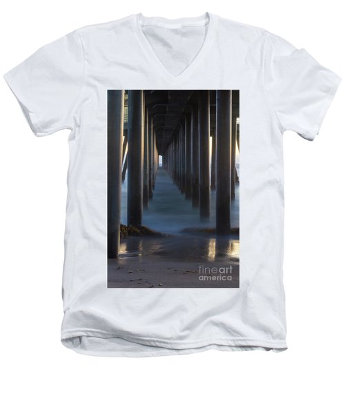 Between The Pillars  Men's V-Neck T-Shirt