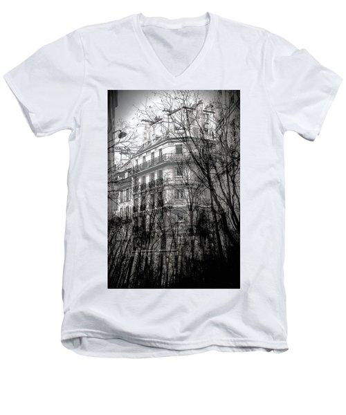 Between Two Worlds Men's V-Neck T-Shirt