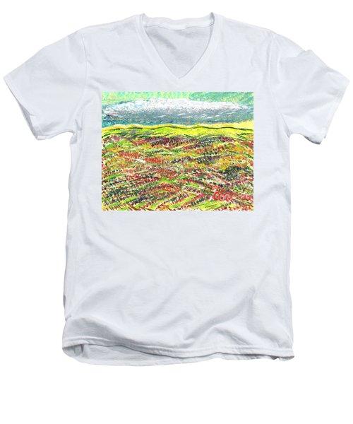 Beyond The Foothills Men's V-Neck T-Shirt