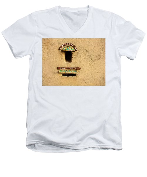 Bibliotheque Municipale Men's V-Neck T-Shirt