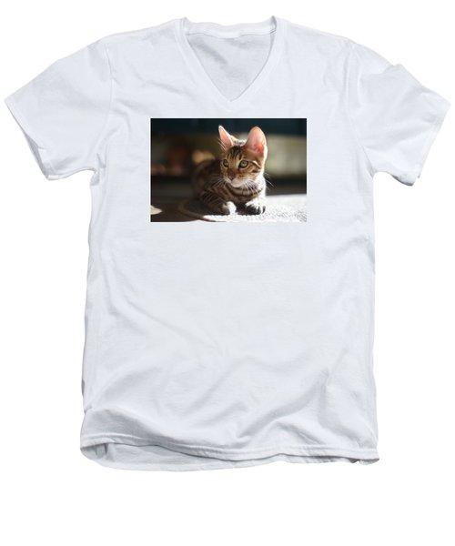 Big Ears Men's V-Neck T-Shirt