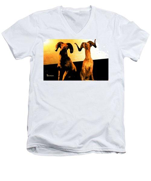 Big Game Canada - Fannin Sheep Men's V-Neck T-Shirt
