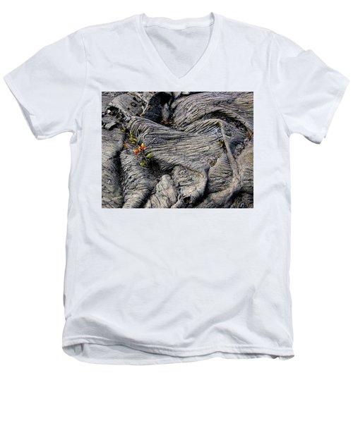 Big Island Lava Flow Men's V-Neck T-Shirt