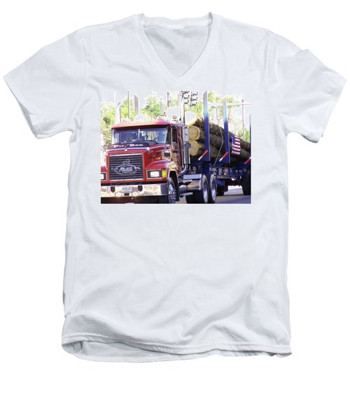 Big Mack Men's V-Neck T-Shirt