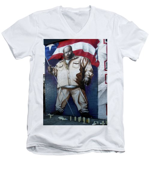 Big Pun Men's V-Neck T-Shirt