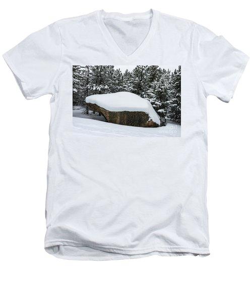 Big Rock - 0623 Men's V-Neck T-Shirt