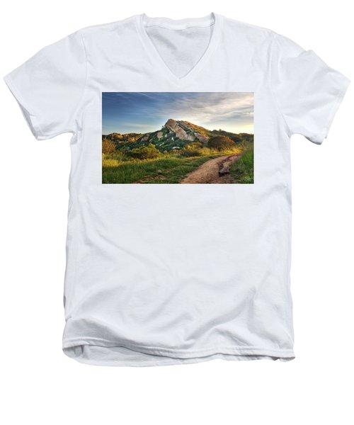 Big Rock Men's V-Neck T-Shirt