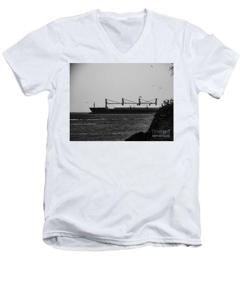 Big Ship Men's V-Neck T-Shirt