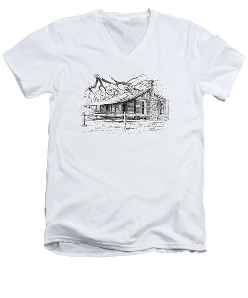 Big Thicket Information Center Men's V-Neck T-Shirt