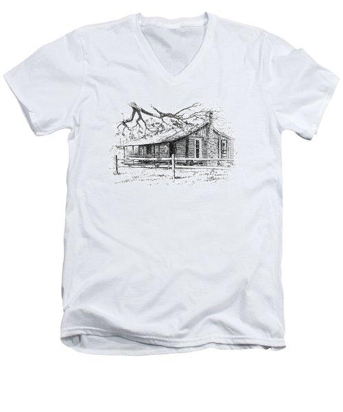Big Thicket Information Center Men's V-Neck T-Shirt