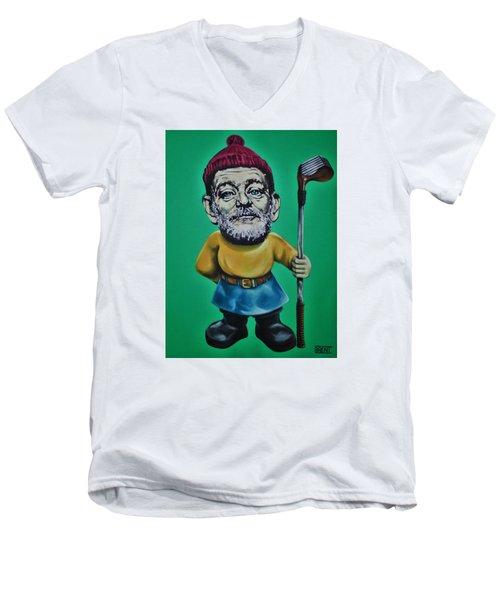 Bill Murray Golf Gnome Men's V-Neck T-Shirt