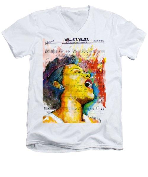 Billie's Blues Men's V-Neck T-Shirt