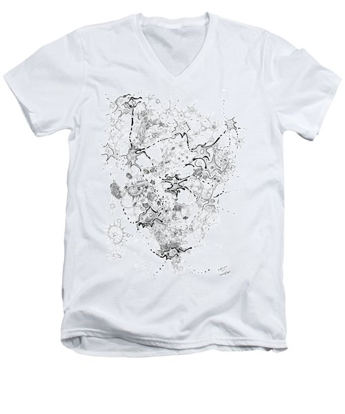 Biology Of An Idea Men's V-Neck T-Shirt