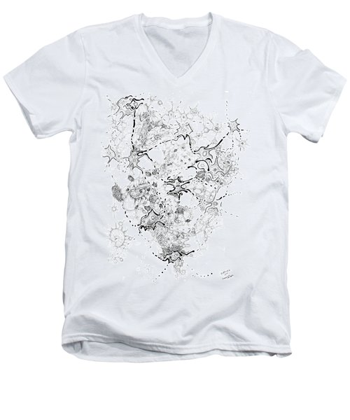Biology Of An Idea Men's V-Neck T-Shirt