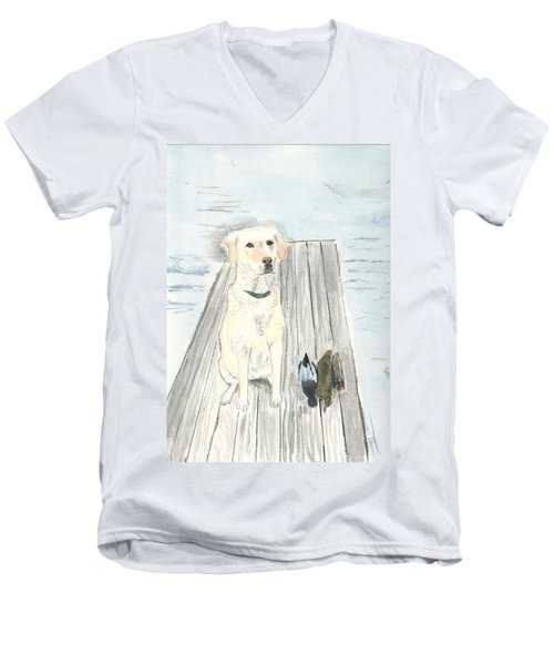 Bird Dog Men's V-Neck T-Shirt