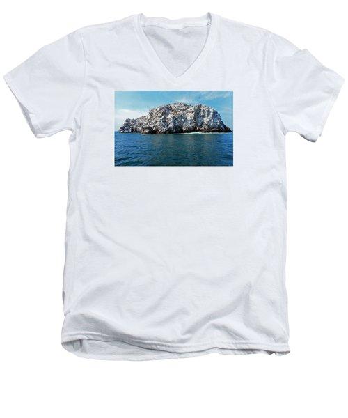 Bird Island 2 Men's V-Neck T-Shirt
