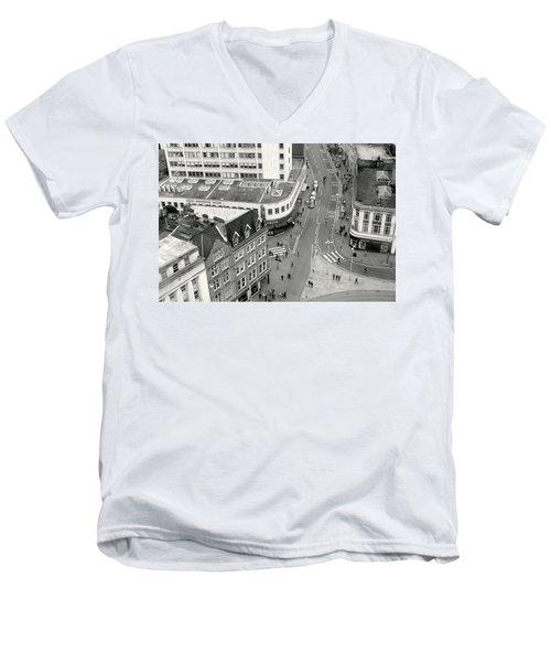 Birds Eye View Men's V-Neck T-Shirt