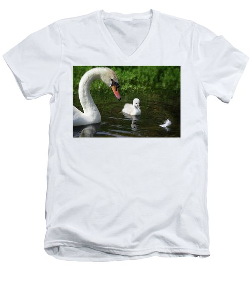 Birds Of Feather... Men's V-Neck T-Shirt