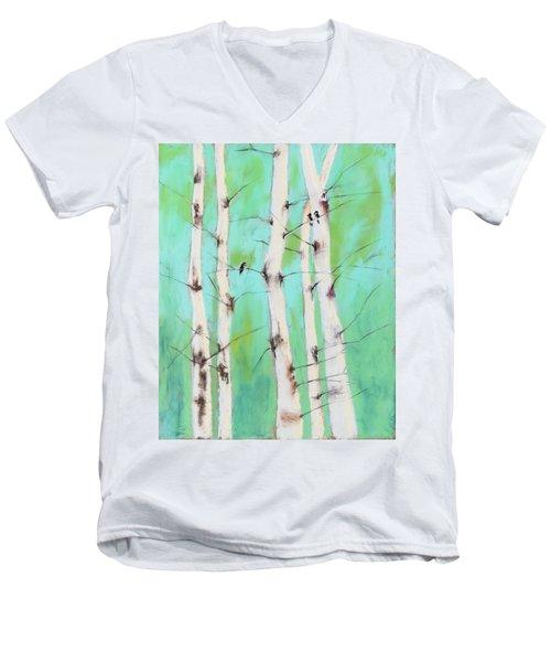 Birdsong Men's V-Neck T-Shirt