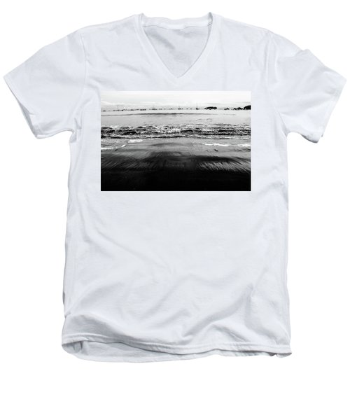 Black Beach  Men's V-Neck T-Shirt