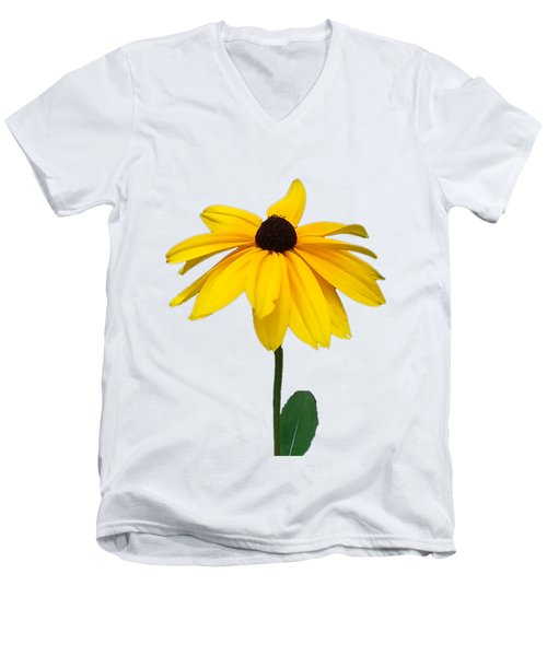 Black Eyed Susan Tee Shirt Men's V-Neck T-Shirt