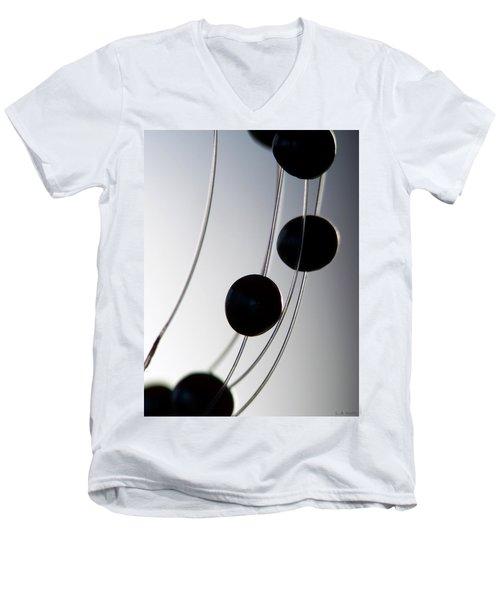 Black Pearls Men's V-Neck T-Shirt