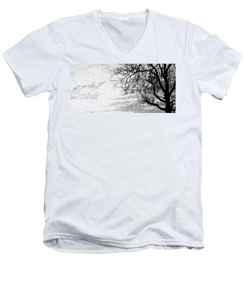 Black Rain Men's V-Neck T-Shirt