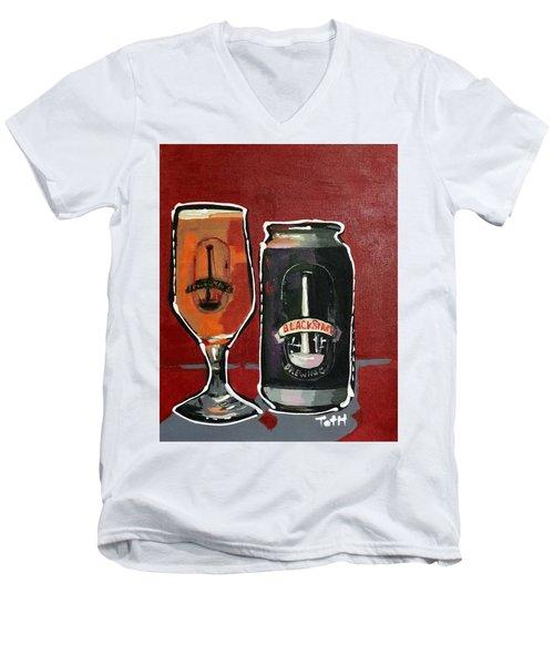 Blackstack Men's V-Neck T-Shirt