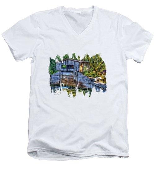 Blakes Pond House Men's V-Neck T-Shirt