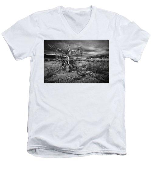 Bleached Bones Men's V-Neck T-Shirt