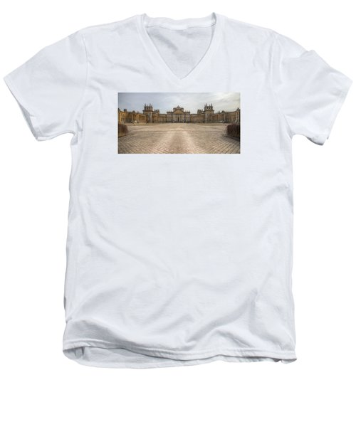 Blenheim Palace Men's V-Neck T-Shirt by Clare Bambers