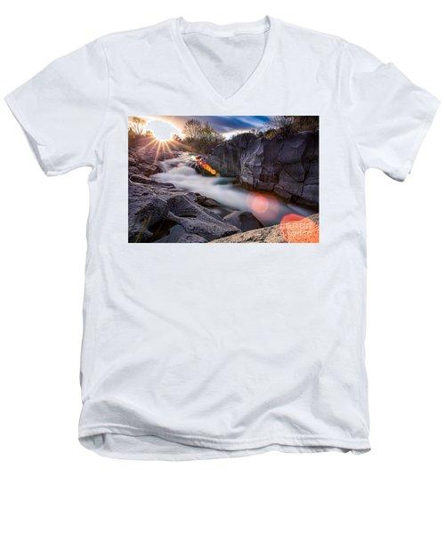 Blinded Men's V-Neck T-Shirt