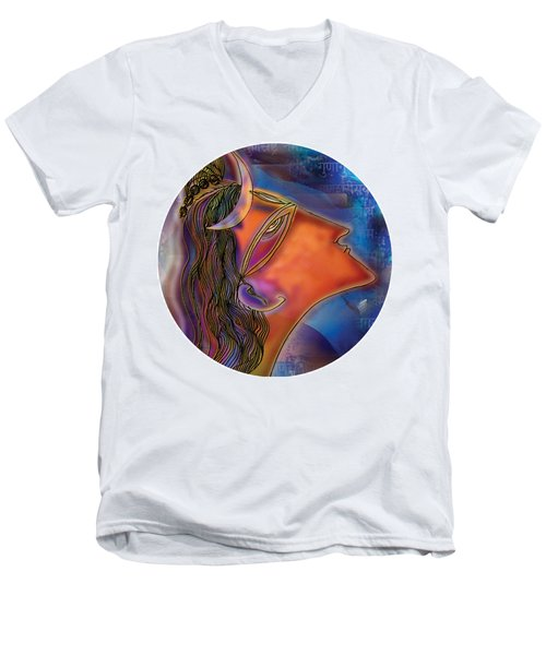Bliss Shiva Men's V-Neck T-Shirt