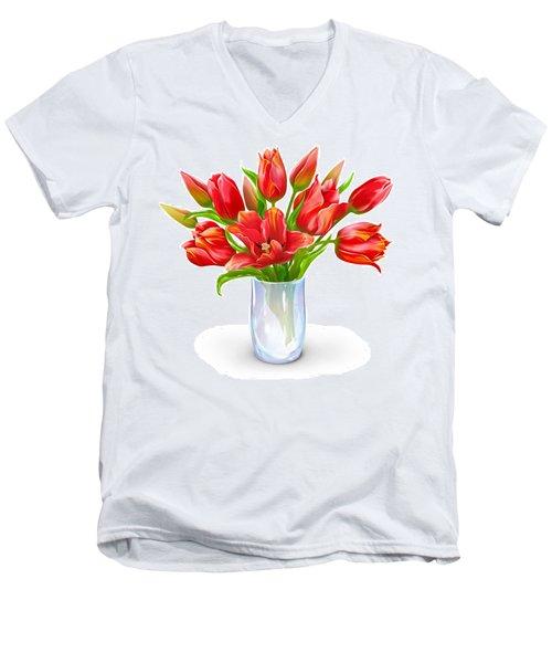 Bloomers Men's V-Neck T-Shirt