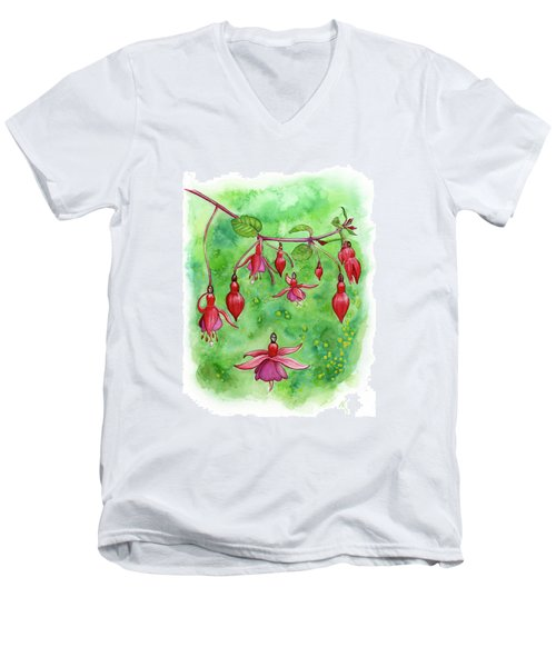 Blossom Fairies Men's V-Neck T-Shirt