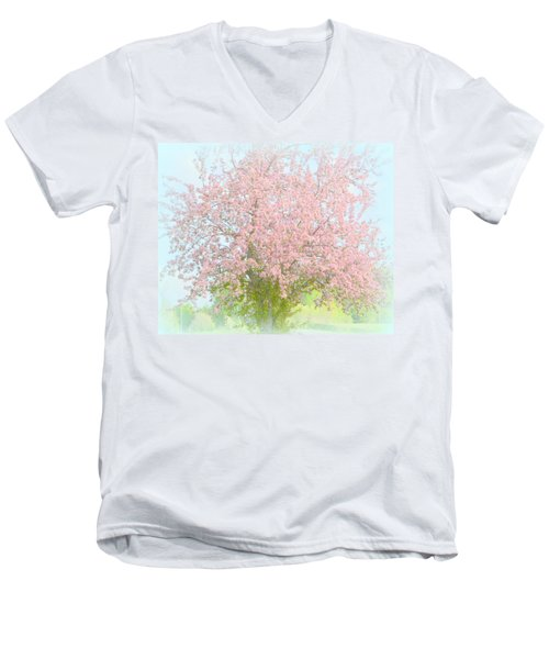 Blossoms Men's V-Neck T-Shirt