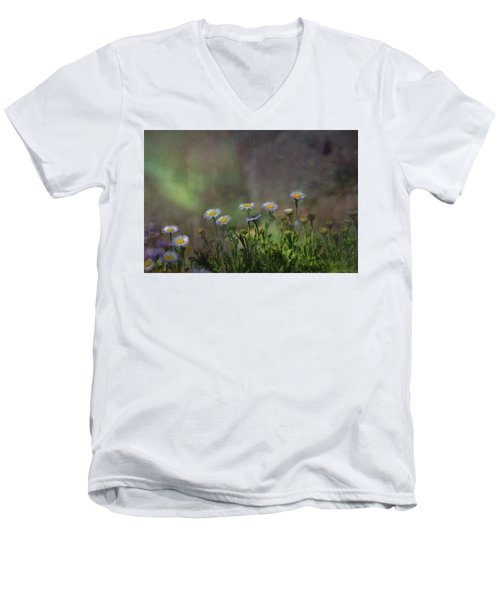 Blowing In The Breeze Men's V-Neck T-Shirt