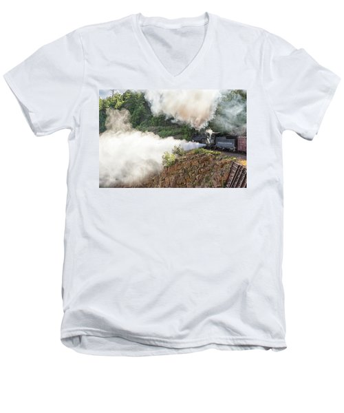 Blowing Off Steam Men's V-Neck T-Shirt