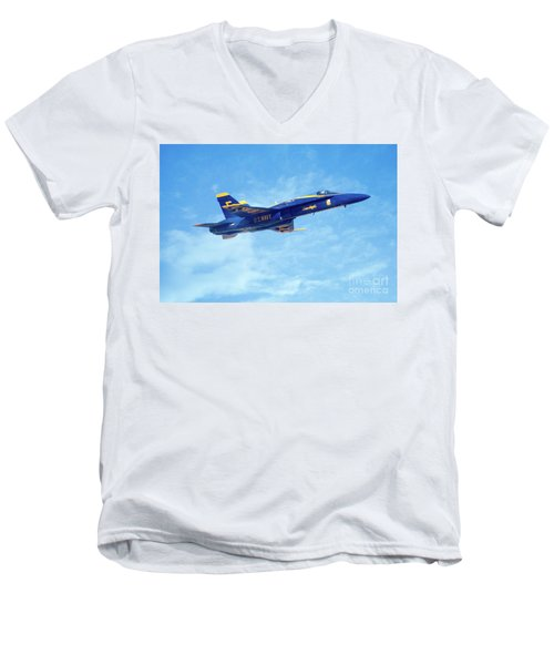 Blue Angel #5 In Arizona Men's V-Neck T-Shirt