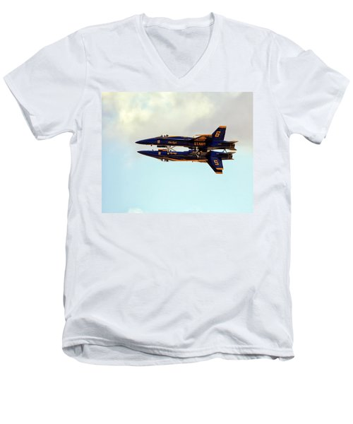 Blue Angels 1 Men's V-Neck T-Shirt