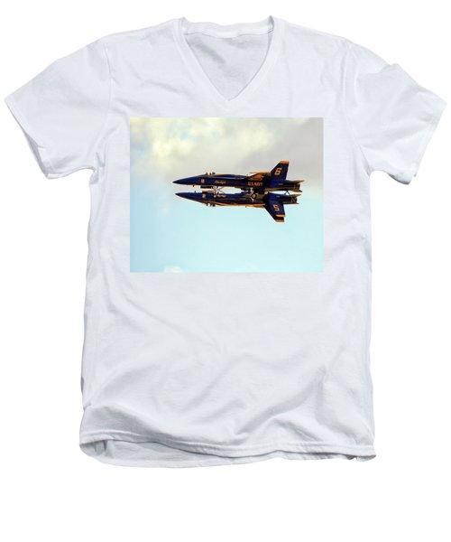 Blue Angels 1 Men's V-Neck T-Shirt