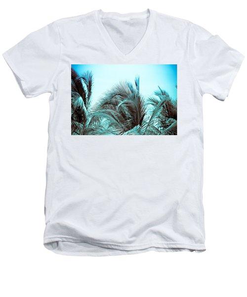 Blue Hawaii Men's V-Neck T-Shirt