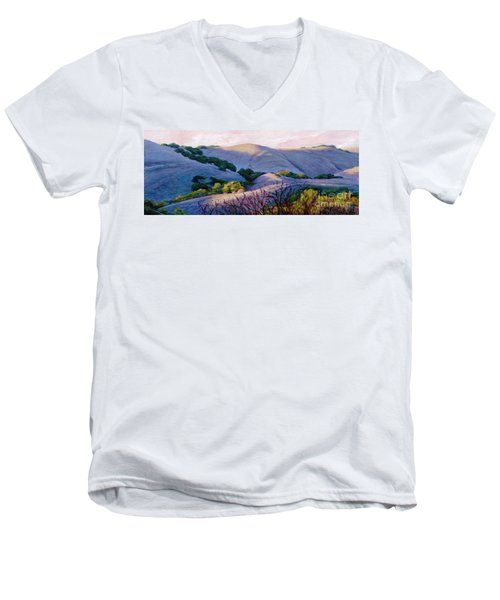 Blue Hills Men's V-Neck T-Shirt