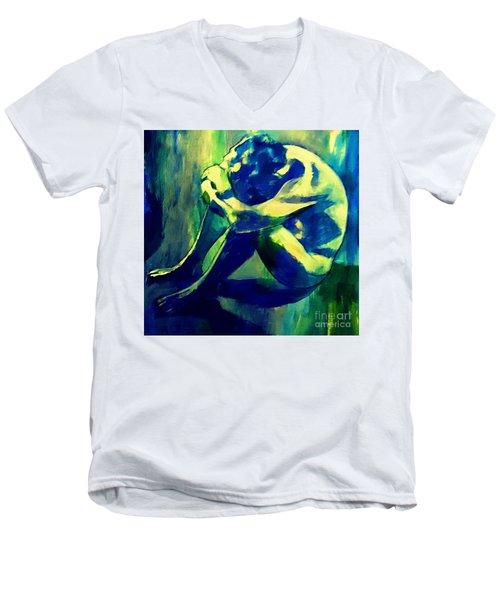 Blue Mood Men's V-Neck T-Shirt