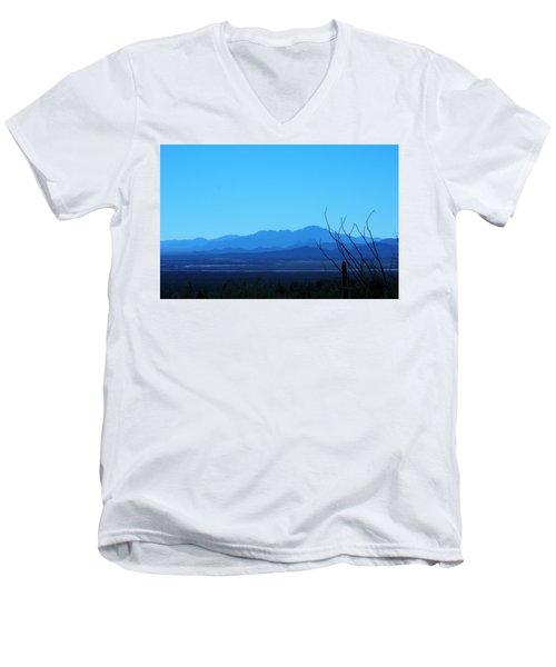Blue Mountain Men's V-Neck T-Shirt