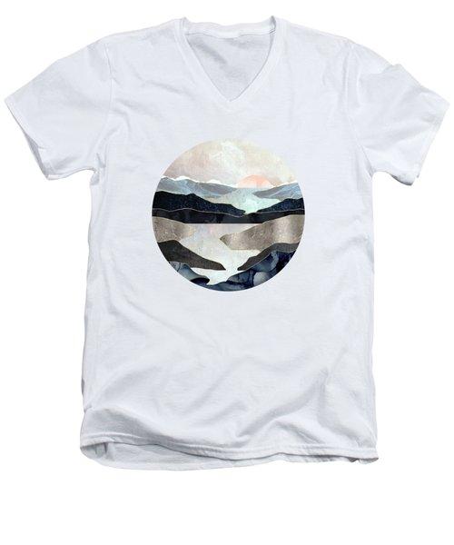 Blue Mountain Lake Men's V-Neck T-Shirt