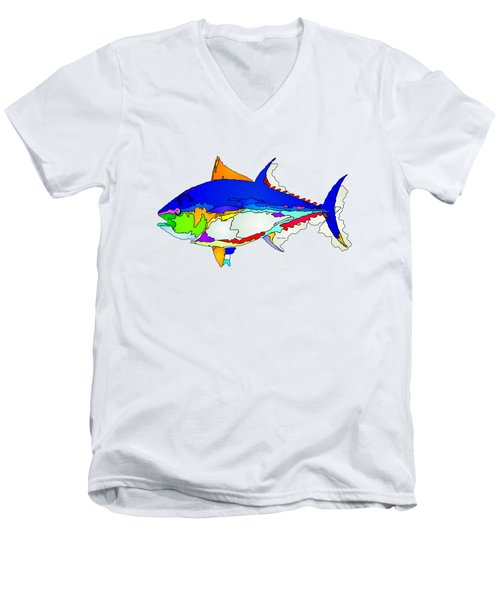 Bluefin Tuna  Men's V-Neck T-Shirt