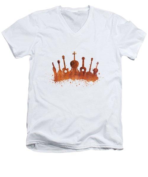 Bluegrass Explosion Men's V-Neck T-Shirt