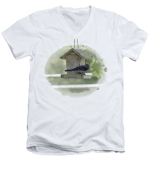 Bluejay Men's V-Neck T-Shirt